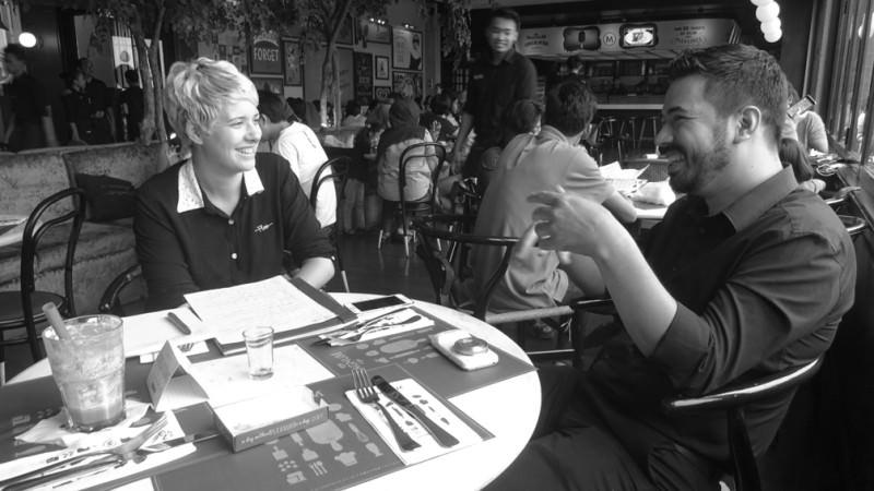 Charleen Dröse interviewt Expat in Jakarta