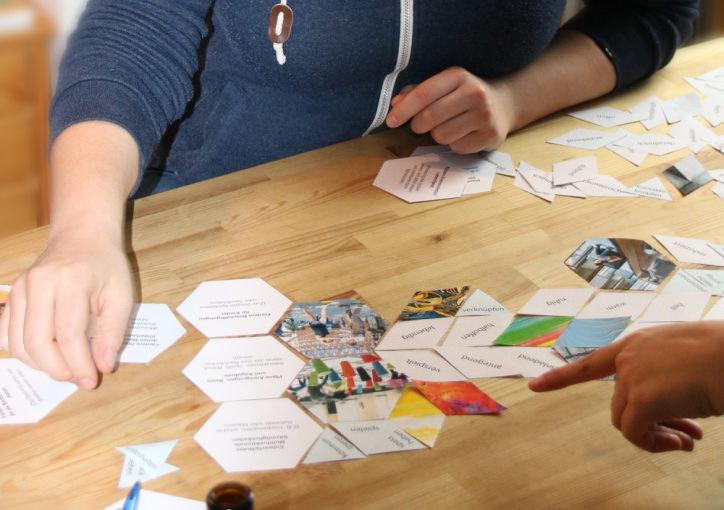 Design Kartenspiel MA-Studium Hannover