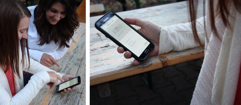 Prototypen-Test App-Design und Usability