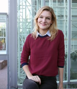 Master-Studentin Kristina Börger der Hochschule Hannover