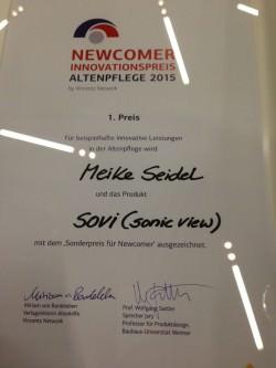 Innovationspreis Meike Seidel