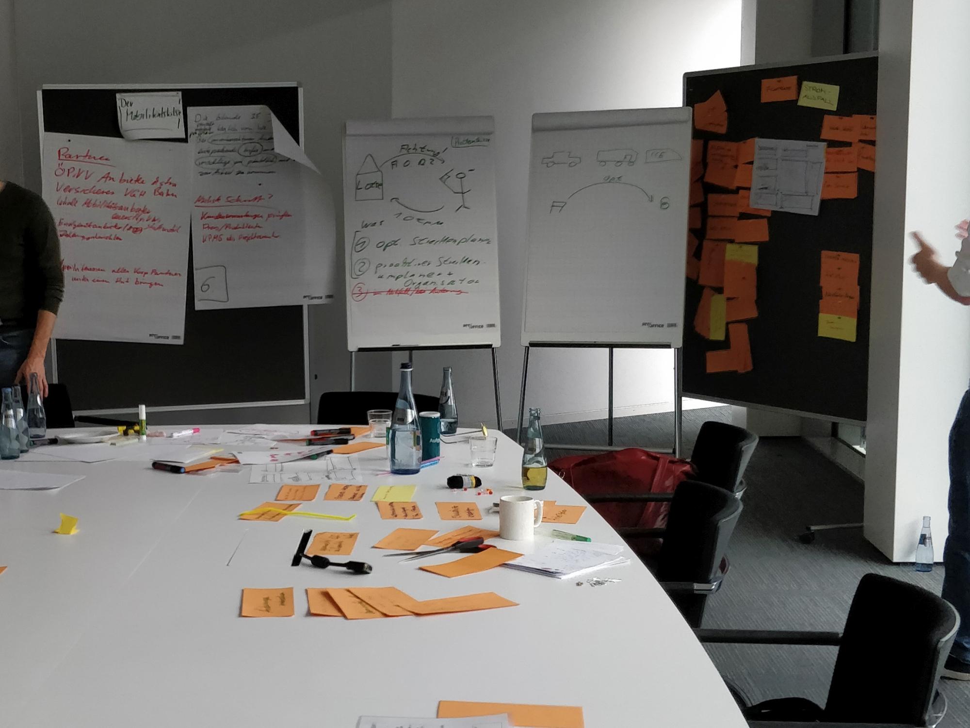 Bunte Menschen, bunte Themen iin den letzten Wochen des Master Studiums Design & Medien an der Hochschule Hannover