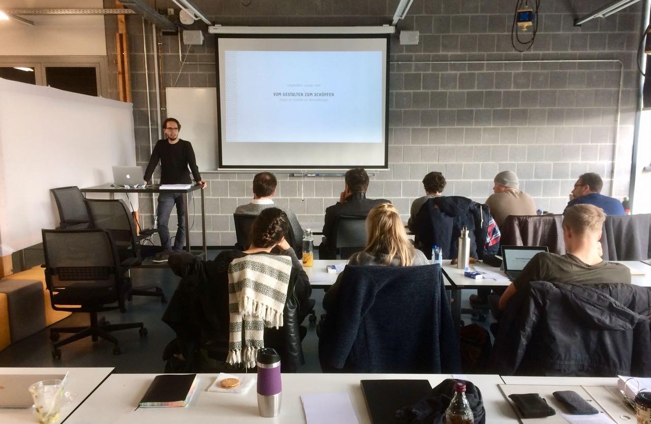 Master Design und Medien, Anfang November Hannover